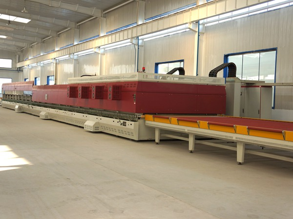 上海北玻钢化生产线顶尖设备